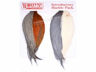 Набор из 4-х скальпов WHITING Introductory Hackle Pack