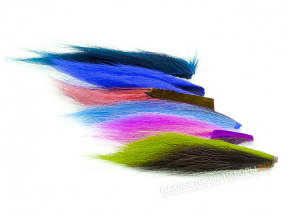 Набор хвостов оленя WAPSI Bucktail Assortment Six Regular Colors