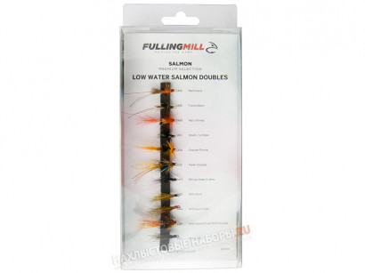 Набор лососевых мушек FULLING MILL Premium Low Water Salmon Doubles Selection
