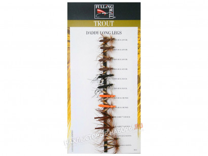 Набор сухих мушек FULLING MILL Daddy Long Legs Selection